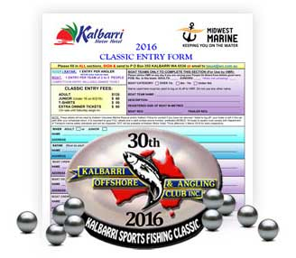 Download the 2016 Kalbarri Clasic entry form
