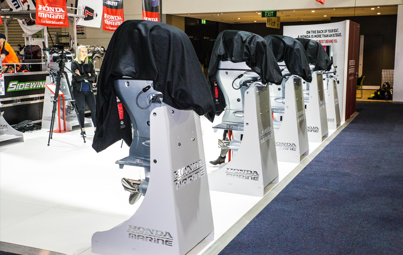 Global debut of several new outboards for Honda Marine