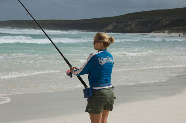 Beach fishing western angler for Surf fishing at night