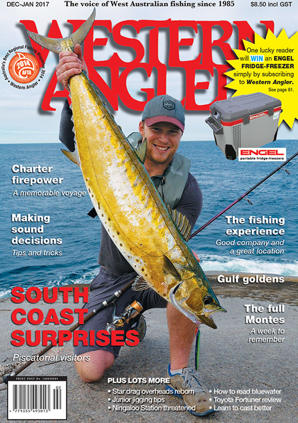 Western Angler Magazine issue cover