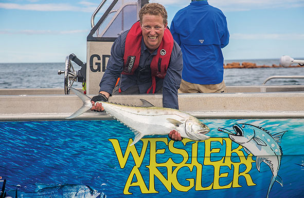 Western Angler Magazine issue contents